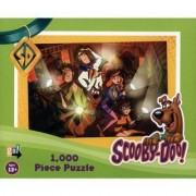 Scooby-Doo 1 000 Piece Jigsaw Puzzle - Gang With Flashlights In Haunted House