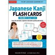 Japanese Kanji Flash Cards Kit Volume 1 by Alexander Kask