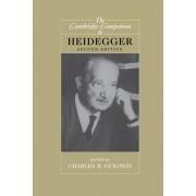 The Cambridge Companion to Heidegger by Charles B. Guignon