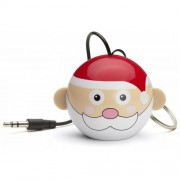 Boxa portabila KitSound Mini Buddy Father Christmas 2W red / white