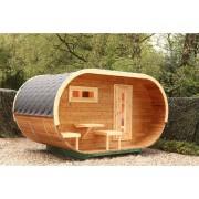 WOLFF FINNHAUS Sauna Ovales Saunafass 28/42 mm Bausatz