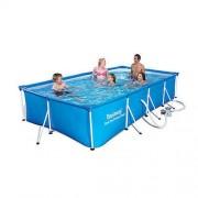 Piscina cu cadru metalic 399x211x81 cm