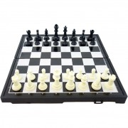 Шах 3 в 1 шах, табла, дама 22 см.