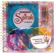 Deseneaza spirale decorative