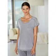Stonewash-Hoodie, Shirt oder Jerseyhose, 40 - Grau - Shirt