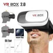 Portable VR BOX 3D 2.0 II Smartphone Headset Virtual Reality Glasses Helmet Oculus Rift Lens for Travel