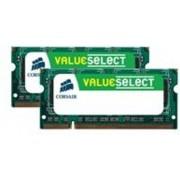 Corsair PC2-6400x2 DDR2 8GB SODIMM 8GB DDR2 geheugenmodule