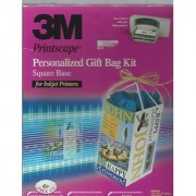 3M Printscape Personalized Gift Bag Kit Square Base for Inkjet Printers