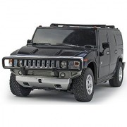 Slick 124 Hummer H2 SUV RC Scale Model Car Black Yellow Red