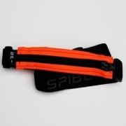 Spibelt THE ORIGINAL Small Personal Item Belt [Colour: Orange Black with Zip]