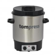 Sterilizator electric din inox, cu temporizator, Tom Press