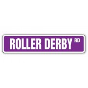 ROLLER DERBY Street Sign skating skates team gift new