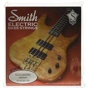 SMITH ELECTRIC BASS STRINGS MASTER SERIES AA-RMM Rock Masters Medium Stainless Steel Bass Guitar Strings Medium