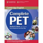 Complete PET Student's Book with Answers with CD-ROM by Emma Heyderman