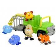 Camion transpor animale Miniland bebe safari, interactív (ML-97242)