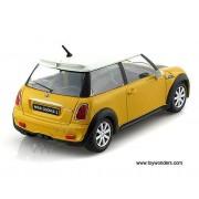 Mini Cooper S - galben - 1:24