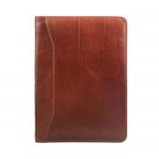 Leder Dokumentenmappe in Braun - Businesstasche, Aktentasche, Dokumententasche, Laptoptasche