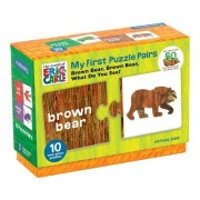 The World of Eric Carle(tm) Brown Bear, Brown Bear, What Do You See? My First Puzzle Pairs