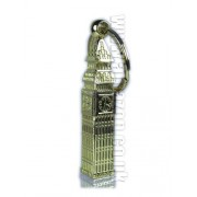 London Souvenir Premier Metal Keyring of Solid Metal- Heavy Brass Big Ben Mod...