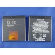 100 Original Nokia Bl-5k Battery 1200 Mah For Nokia C7 701 N85 N86 X5-01