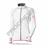 mikina dámská Progress TISPA II.bílo/růžová
