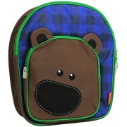 Neat-Oh. Sac à dos Pals Zipbin Plaid, Billy Ours