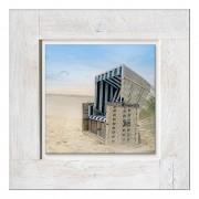 Afbeelding achter glas Beach Chair, Pro Art