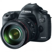 Canon eos 5d mark iii + ef 24-105mm f/4l is usm - man. ita - 2 anni di garanzia
