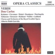 G Verdi - Don Carlos (0730099609623) (3 CD)