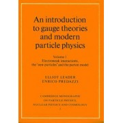 An Introduction to Gauge Theories and Modern Particle Physics 2 Volume Paperback Set: Vol.1 by Elliot Leader