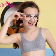WoFee Puberty Growing Young Girls Soft Touch Cotton Training Bra With Two Hooks B1014