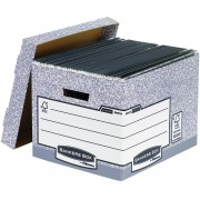 Fellowes R-Kive System Bankers Box Large Storage Box 10 Pack