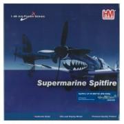 Supermarine Spitfire Lf Mk.Ix 1:48 Die Cast Model, 322 Squadron, Royal Netherlands Air Force, By Hobby Master Ha8308
