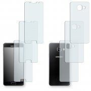 6x Golebo Crystal Protection D'écran Pour Samsung Galaxy A3 (2016) Pour Le Front / Le Derrière (3x Devant Et 3x Derriã¿Re)