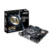 Asus H170M-E D3 Intel mATX Scheda Madre 1151, DDR3, Nero