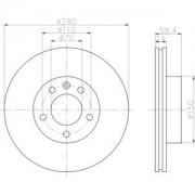 Ersatzteile Bremsanlage Scheibenbremse Bremsscheibe