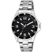 LAURELS Invicta Series Black Color Men Watch (LO-IVA-020707)