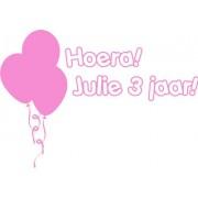 Verjaardagsticker Ballonnen!