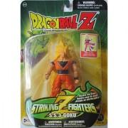 Dragonball Z - Striking Z Fighters 5 SS3 GOKU ACTION FIGURE - IRWIN TOYS