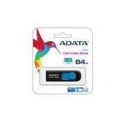 Adata USB Pendrive DashDrive UV128 64GB USB 3.0 Black+Blue