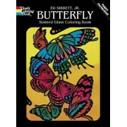 Butterfly Stained Glass by Ed Sibbett