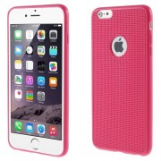 Szilikon tok Apple iPhone 6 / 6S telefonhoz - PINK