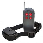 Cães Coleira anti-latido / Coleiras de Adestramento para Cães Anti Latido / Controle Remoto / Electrónico/Elétrico / Vibração Sólido Preto