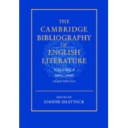 The Cambridge Bibliography of English Literature: Volume 4, 1800-1900: 1800-1900 v. 4 by F. W. Bateson