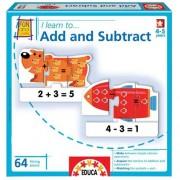 Educa 16418 - Gioco Educativo I Learn. Add And Subtract