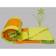 Prekrivač Krep-streč frotir žuta, zelena, narandžasta - Stefan