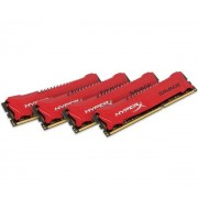 HyperX Savage - 32 Go (4 x 8 Go) DDR3-2400 PC3-19200 CL11 (HX324C11SRK4/32) - Mémoire PC
