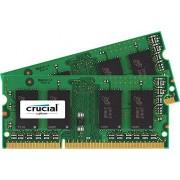Crucial 8GB Kit (4GBx2) DDR3 1600 MT/s (PC3-12800) SODIMM 204-Pin Mémoire pour Mac - CT2C4G3S160BMCEU