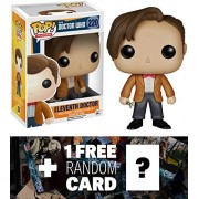 Eleventh Doctor: Funko POP! x Doctor Who Vinyl Figure + 1 FREE Official Dr Who Trading Card Bundle [46286]