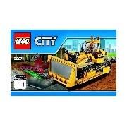 Lego City Buldózer 60074